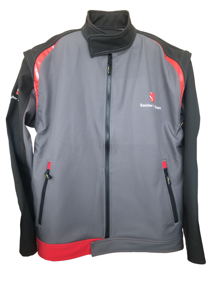 °°Hr. Soft shell Sauber Retail 1738 grau/s