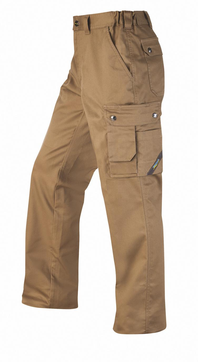 °Hr. Arbeitshose Stretch 2012 khaki