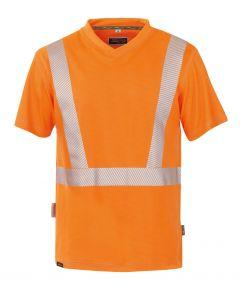 °HR. T-SHIRT ISO 20471 1309 ORANGE