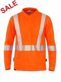 °HR. SWEATSHIRT ISO 20471 1319 ORANGE