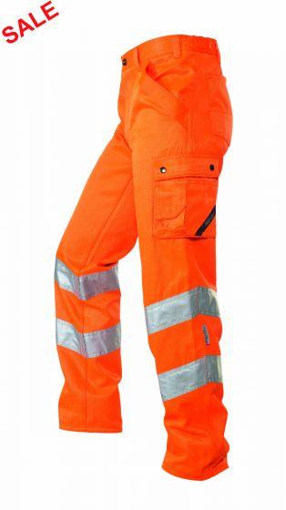 °HR. ARBEITSHOSE ISO20471 1235 ORANGE