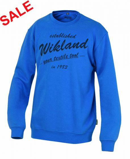 °HR. SWEATSHIRT 7588 BLAU