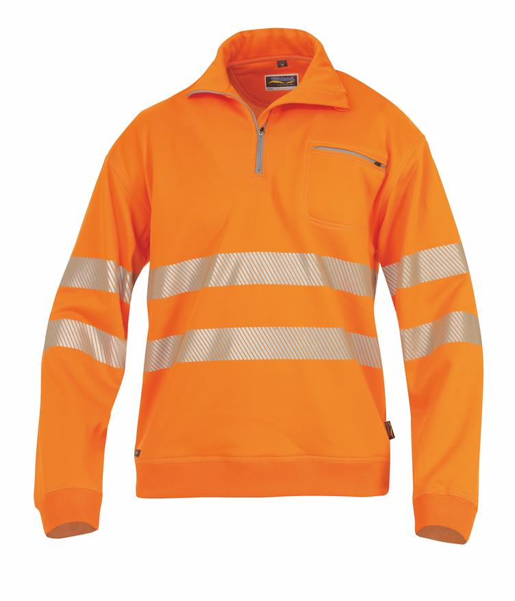 °HR. SWEATSHIRT ISO 20471 1323 ORANGE