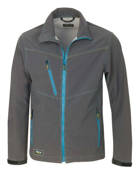 HR. SOFTSHELL JACKE 8884 ANTHRAZIT